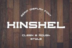 Kinshel Font by BART.Co Design on @creativemarket