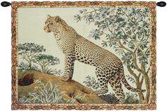 Leopard II Tapestry Wall Art Hanging