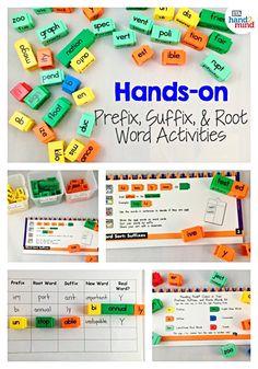 Literacy Stations, Literacy Skills, Literacy Centers, Homeschool Supplies, Homeschool Kindergarten, Preschool, Spelling Activities, Hands On Activities, Latin Root Words