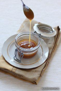 Karamell szósz, cukor nélkül! Vegan Butter, Sugar Free, Latte, Panna Cotta, Waffles, Paleo, Cukor, Cooking, Ethnic Recipes