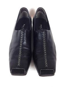 Paul Green Shoes Leather Black Munchen Slip on Athletic Loafers UK 6 5 US 9 | eBay
