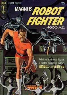 Magnus Robot Fighter #18