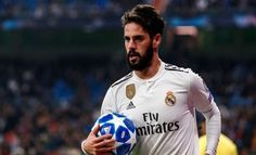 Isco Alarcón of Real Madrid looks on during the UEFA Champions League Group G match between Real Madrid and CSKA Moscow at Bernabeu on December 2018 in Madrid, Spain. Get premium, high resolution news photos at Getty Images Isco Alarcon, Pep Guardiola, Zinedine Zidane, Uefa Champions League, Manchester City, Real Madrid, Moscow, That Look, Polo Ralph Lauren