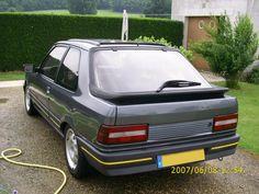 Peugeot - great for upsetting Golf GTI drivers 309 Gti, Peugeot France, Psa Peugeot Citroen, Classic Cars, Vehicles, Golf, Vintage Cars, Vintage Classic Cars, Car