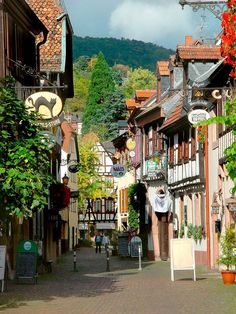 Streets+in+French+Villages | Scenic Drives in Germany - Germany's Best Scenic Drives