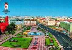 Beautiful Travel Postcard: Belarus