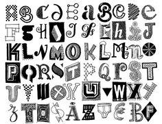 letter doodles - Google Search