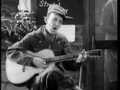 """Jimmie Rodgers - Waiting for a Train/Daddy andHome/BlueYodel Jimmie Rodgers """"The Father of Country Music"""" was born in Meridian, Mississippi. Country Artists, Country Singers, Bates Motel Season 4, Gandy Dancer, Jimmie Rodgers, Blues, Country Music Videos, Grand Ole Opry, Half Man"""
