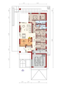Alison III G2 ENERGO PLUS - projekt domu - Archipelag Floor Plans, House, Floor Plan Drawing, House Floor Plans