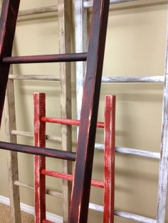 Vintage Look Decorative Ladder By LadderLove On Etsy, $60.00