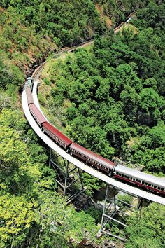 #Kurunda Scenic Railway in North #Queensland #Australia from Tropical Horizons Tour 1 by cairnsattractions.com
