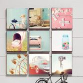 Found it at Wayfair - Vintage Canvas Art (Set of 9)