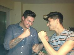 Zayn and Perrie's brother