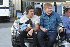 Harry Styles & Ed Sheeran