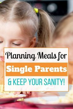 How to meal plan as a single parent and keep your sanity! - How to meal plan for single parents. Planning out meals for your kids is different when you're a - Parenting Plan, Gentle Parenting, Parenting Quotes, Parenting Hacks, Parenting Classes, Parenting Websites, Peaceful Parenting, Planning Budget, Meal Planning