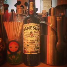 Limited Edition 'Dublin' bottle of Jameson Whiskey