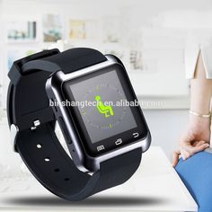 Smartphone compatiable Bluetooth Smart Wrist Watch for IOS and android