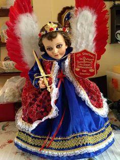 San Miguel arcangel Catholic Religion, Baby Jesus, Tutu, Harajuku, Snow White, Disney Princess, Christmas, Kids, Angels