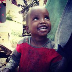 Happy boy from Zimbabe
