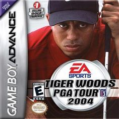 Tiger Woods PGA Tour 2004 - Game Boy Advance Game