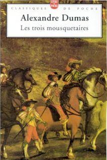 Capa de Os Três Mosqueteiros - Alexandre Dumas
