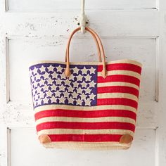 American Flag Tote in New New Arrivals Gifts at Terrain
