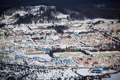 Snow blankets North Korea
