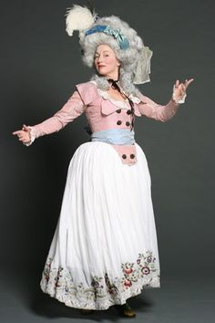 Reproduction 18th century costumes from Nordstjernan