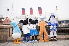 東京ディズニーシー、ミッキー、ミニー、ドナルド、グーフィー、プルート