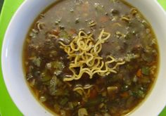 Manchow Soup - An all-time favorite soup for those who savoir soups.