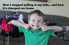 How I stopped yelling at my kids… & how it's changed our home via @msmblog