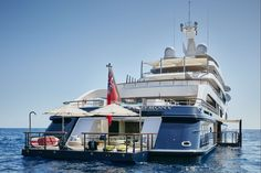The new 333′ SYMPHONY from Feadship has to be one of the most incredible superyachts ever built. It has the worlds' most expensive night club, golf driving range and an engine room that looks like something from Star Trek! See for ... Read More