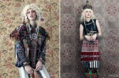 mix of print , texture and general folk fabulousness !