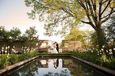 Dirtworks Landscape Architecture | Cleveland Botanical Garden - A wedding taking place in Elizabeth and Nona Evans Restorative Gardens