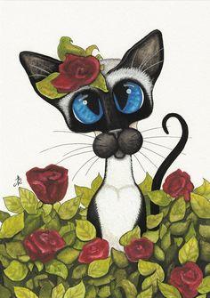 Gatito romántico
