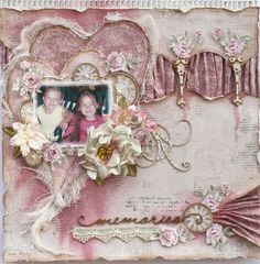 Gabriellep's Gallery: Memories **The Scrapbook Diaries & Maja Design**