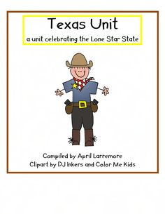 AMAZING Texas Unit! So many ideas that we can use with our Kinders - Twelve Days of Rodeo - Hands on Craftivities :)