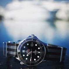 A #classic #diver by @omega #seamaster #rules - #omegawatches #omegamychoice #seamaster #professional #diver #iconic #watches #montres #chronometer #ceramic #natostrap #beater #allday #watchesofinstagram #klocksnack #bokeh #womw #wus #watchoftheday #coaxial by elio5 #omega #seamaster #watchesformen