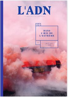 L'ADN magazine editorial design and art direction by Violaine & Jeremy