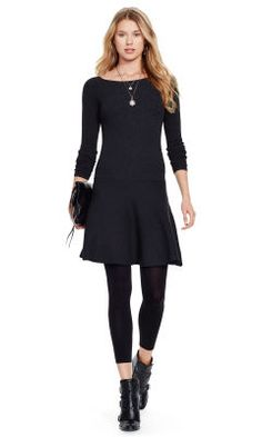 Robe-pull côe - Polo Ralph Lauren Robes courtes - Ralph Lauren  France. Ribbed Sweater Dress ...
