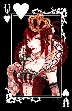 The Queen by VermeilleRose.deviantart.com on @DeviantArt