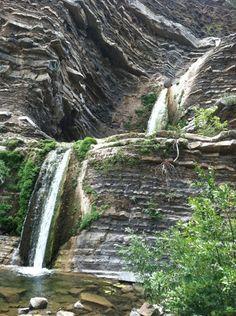 may only see these falls during a rain-Matilija Canyon Trail, Ojai, California Santa Barbara California, California Dreamin', California Camping, Ventura California, Santa Barbara Real Estate, Ventura County, Back Home, Vacation Spots, Day Trips