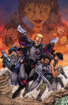 FOREVER EVIL: A.R.G.U.S. #1  Written by MATT KINDT  Art by MANUEL GARCIA  Cover by BRETT BOOTH and MARK IRWIN  On sale OCTOBER 23 • 32 pg, FC, 1 of 6, $2.99 US • RATED T  Retailers: This issue will ship with two covers. Please see the order form for more information.  The villains have killed the Justice League and decimated A.R.G.U.S.'s headquarters. Only Steve Trevor and the surviving A.R.G.U.S. agents can pick up the pieces and save the civilian populace from unthinkable evil!