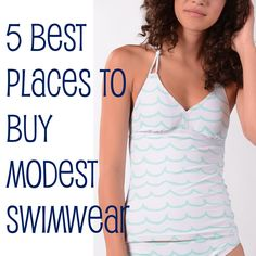 5 Best Places to Buy Modest Swimwear