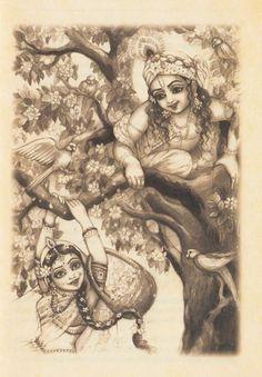Radha Krishna lila