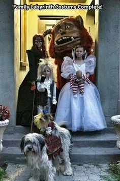 Labrynth costumes