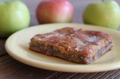 Apple Bars (Paleo/Primal) | The Unrefined Kitchen | Paleo & Primal Recipes