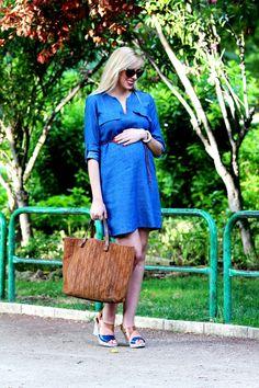 Envie de fraise ♡ Teresa Quiroga  // STELLA - Robe grossesse  #MaternityStyle #Maternity #Fashion #BumpStyle #Mumtobe #BabyBump