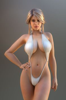 she is waiting for your worship ATTENTION: If you would like to see a highres NUDE version of this render, it is available as a premium download for 100 points on this page Small Thumbnail pr...