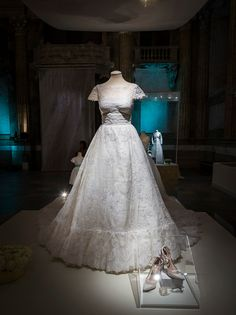 The Wedding Dress Of Princess Madeleine Sweden Designed By Valentino Garavani Is Seen On Display During An Exhibition At Royal Palace October 2016